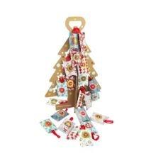 1-24 pakkekalender - Juletræ