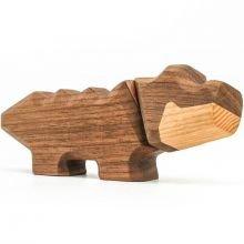 FableWood - Magneettinen puulelu, Pieni krokotiili