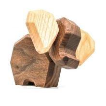 FableWood - Magneettinen puulelu, Pieni elefantti
