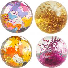 Kuularata Kullerbü tarvikkeet - Glitter-kuulat