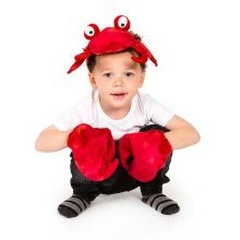 Udklædning - Krabbe