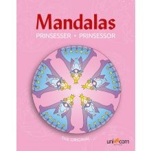 Mandala Värityskirja - Prinsessat