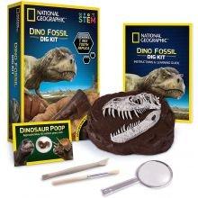 Kaiva dinosaurusten fossiileja