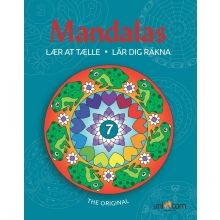 Mandala Värityskirja - Opettele laskemaan