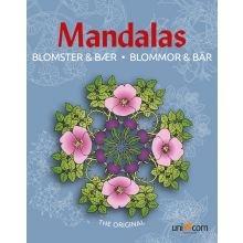 Mandala Värityskirja - Kukkia ja marjoja