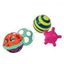 Aktiviteettipallot - Ball-a-Balloos, 4 kpl