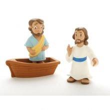 Raamatulliset hahmot - Jeesus kävelee veden päällä