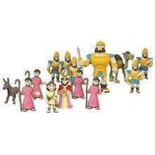 Raamatulliset hahmot - Daavid & Goljat, 16 osaa