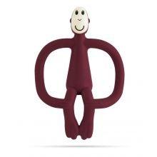 Vauvan Purulelu Matchstick Monkey - Viininpunainen