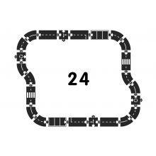 Autorata - Moottoritie, 24 osaa