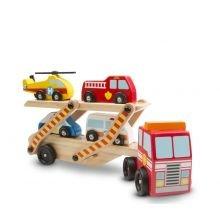 Autokuljetus pelastusautoilla