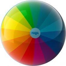Bold med regnbuefarver - 15 cm