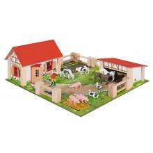 Maatila eläimillä ja tarvikkeilla, 21 osaa
