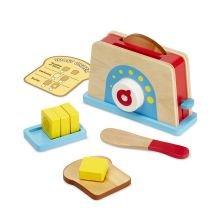 Leikkiruoka - Leivänpaahdin, leipä & voi