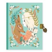 Dagbog med lås - Lucille