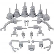 Dekorationsdele - Robot, 19 stk