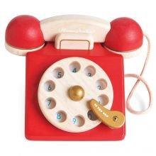 Honeybake - Vanhanajan puhelin puusta