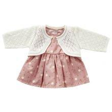 Nuken vaatteet - Mekko neuleella - Useita kokoja