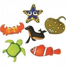 Sukelluslelut - eläimet, 6 kpl