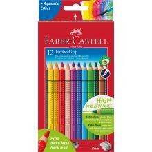 Faber Castell -värikynät Jumbo Grip 12 kpl