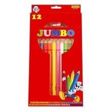 Väriliidut, Jumbo, 12 kpl