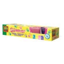 Fingermaling 4 farver - Glimmer