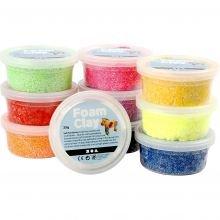 Foam Clay 10 x 35 g - Perusvärit