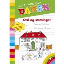 Godt i gang med dansk: Ord og sætninger