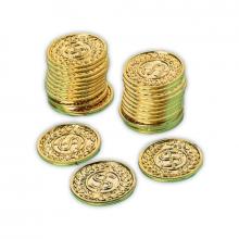 Kultarahaa muovista, 72 kpl