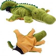 Käsinukke - Krokotiili