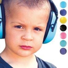 Kuulosuojaimet 2-10 .vuotiaille - yksiväriset