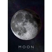 Interaktiivinen juliste - Kuu
