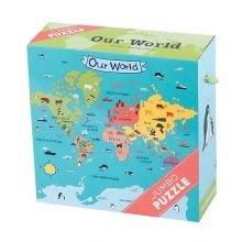 JÄTTILÄISpalapeli - Meidän Maailmamme, 25 palaa