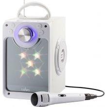 Karaokesetti, bluetooth + vilkkuvat valot