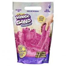 Kinetic Sand – Pinkki glitterillä, 900 g