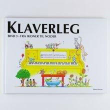 Klaverleg fra ikoner til noder
