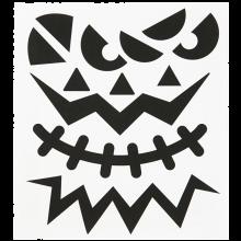 Tarrat - Halloween-kasvot, 1 arkki