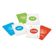 Korttipelit - Opettele kerto- ja jakolaskut