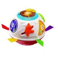 Kravle- og lærebold med lyd og lys