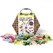 Krea-matkalaukku - Kukat ja korut, 850 osaa