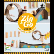 Kuglebane Zig & Go, 25 dele