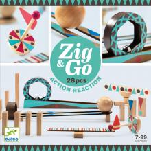 Kuglebane Zig & Go, 28 dele
