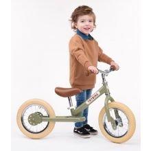 Potkupyörä - Trybike kahdella pyörällä, Vihreä