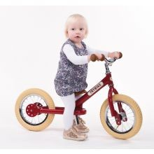 Potkupyörä - Trybike kahdella pyörällä, Punainen