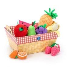 Leikkiruoka - Kankainen hedelmäkori
