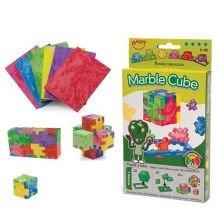 Happy Cube Marble 6-pakkaus