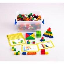 Cubes 2 cm - Luokkasetti sis. 500 osaa