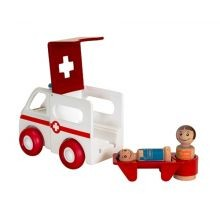 BRIO lelusetti - Ambulanssi valollla ja äänellä
