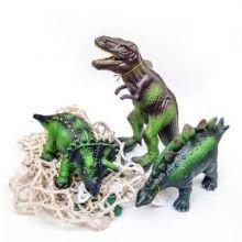 Eläimet 100% luonnonkumista - Dinosaurukset, 3 kpl