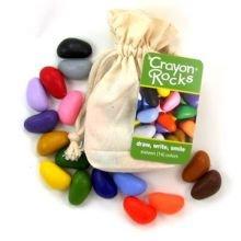 Farvekridt - Crayon Rocks 16 stk i stofpose